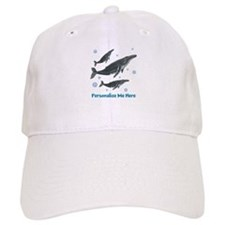 Personalized Humpback Whale Baseball Cap