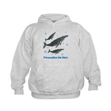 Personalized Humpback Whale Hoodie