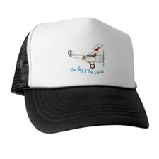The Skys The Limit Trucker Hat