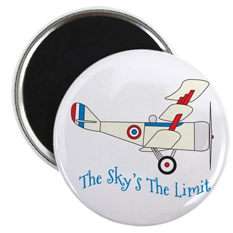 """The Skys The Limit 2.25"""" Magnet (100 pack)"""
