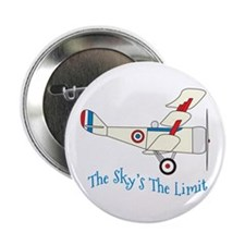 """The Skys The Limit 2.25"""" Button"""