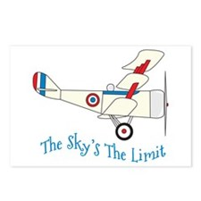 The Skys The Limit Postcards (Package of 8)