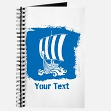 Viking Ship with Text. Journal