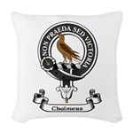 Badge - Chalmers Woven Throw Pillow