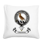Badge - Chalmers Square Canvas Pillow