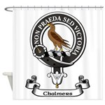 Badge - Chalmers Shower Curtain
