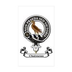 Badge - Chalmers Sticker (Rectangle 50 pk)