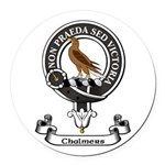 Badge - Chalmers Round Car Magnet