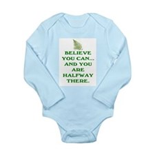 YOU ARE HALFWAY THERE! Long Sleeve Infant Bodysuit