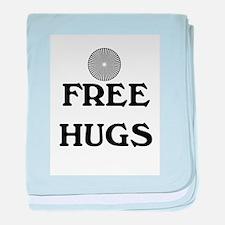 FREE HUGS baby blanket