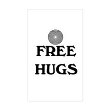 FREE HUGS Decal