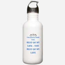 THE BEST OF MY LIFE Water Bottle