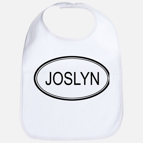 Joslyn Oval Design Bib