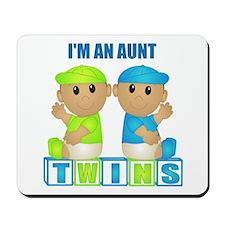 I'm An Aunt (TBB:blk) Mousepad