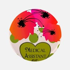 """Medical Assistant 3.5"""" Button"""