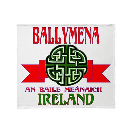 Ballymena Remake ribbon2.png Throw Blanket