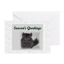 Chinchilla Christmas Cards (Pk of 10