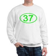 Number 37 Oval Sweatshirt