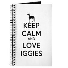 Keep Calm and Love Iggies Journal