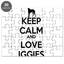 Keep Calm and Love Iggies Puzzle