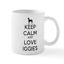 Keep Calm and Love Iggies Mug