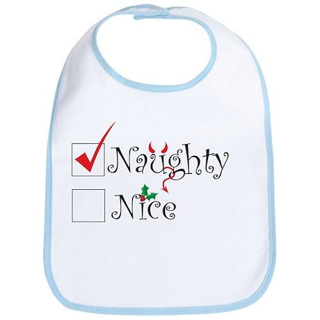 Naughty or Nice Bib