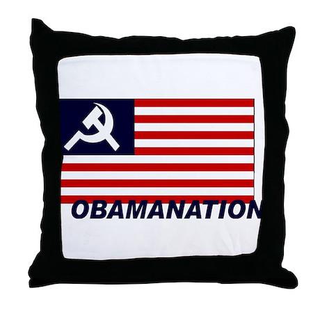 Obamanation Throw Pillow