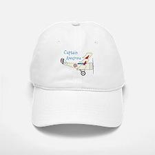 Captain Awesome Baseball Baseball Baseball Cap