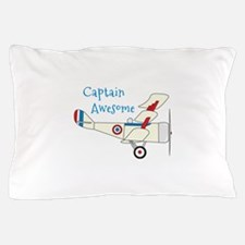 Captain Awesome Pillow Case