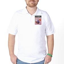 Vintage Boston MA Travel T-Shirt