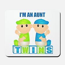 I'm An Aunt (BBB:blk) Mousepad