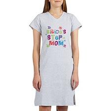 Bride's Step-Mom Women's Nightshirt