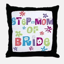 Step-Mom of Bride Throw Pillow