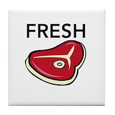 Fresh Meat Tile Coaster