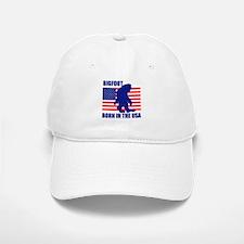 Bigfoot born in USA Baseball Baseball Cap