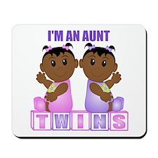 I'm An Aunt (DGG:blk) Mousepad