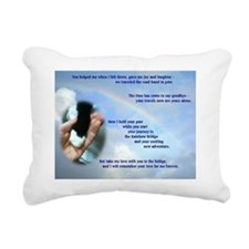 Ode to a Special Friend Rectangular Canvas Pillow