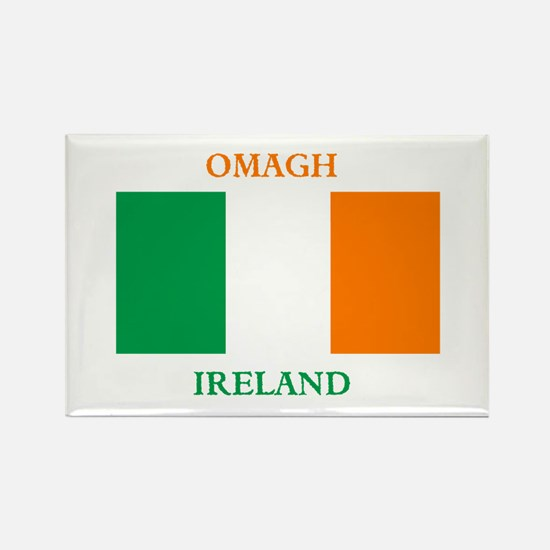 Omagh Ireland Rectangle Magnet
