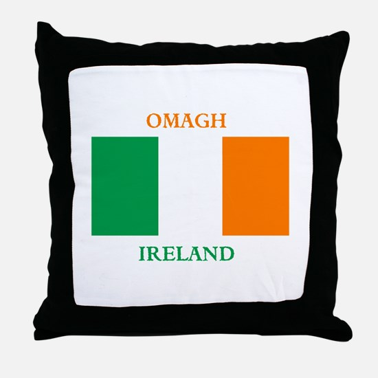 Omagh Ireland Throw Pillow