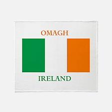 Omagh Ireland Throw Blanket