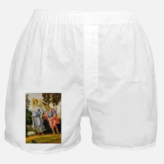Filippino Lippi - Tobias and the Angel Boxer Short