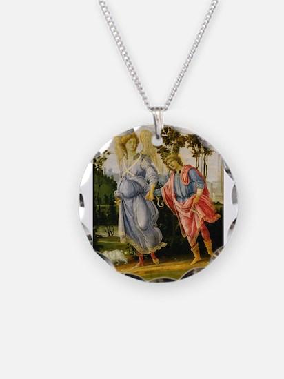 Filippino Lippi - Tobias and the Angel Necklace
