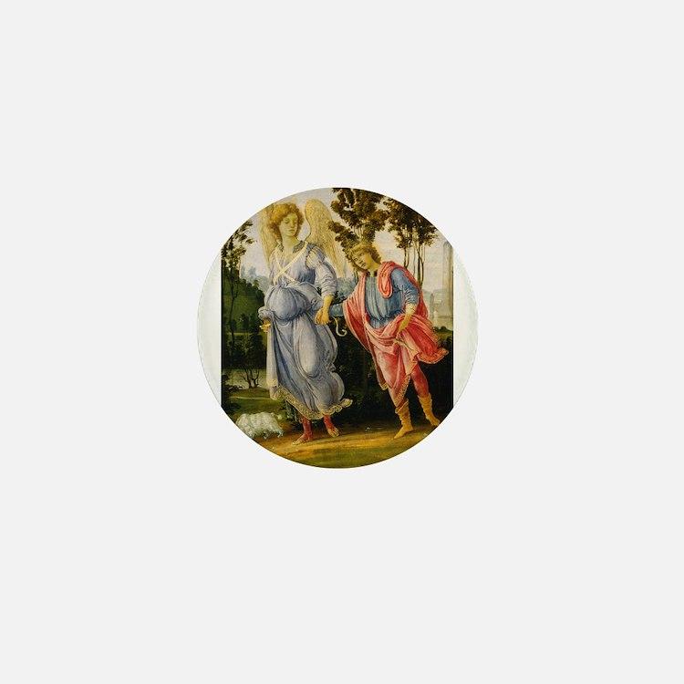 Filippino Lippi - Tobias and the Angel Mini Button