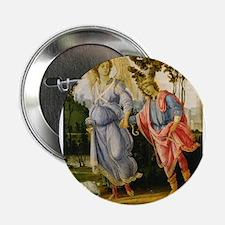 """Filippino Lippi - Tobias and the Angel 2.25"""" Butto"""