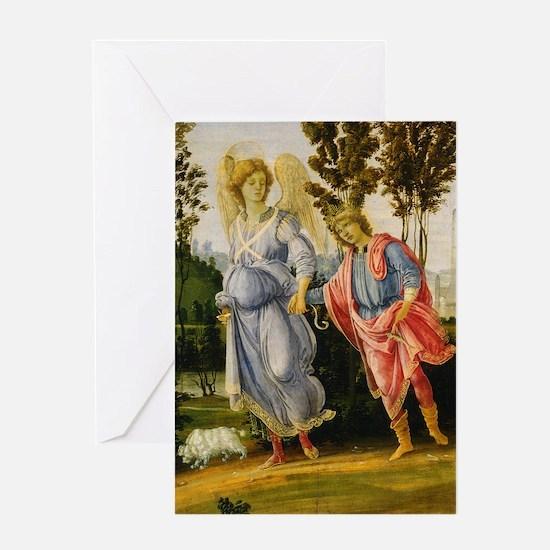 Filippino Lippi - Tobias and the Angel Greeting Ca