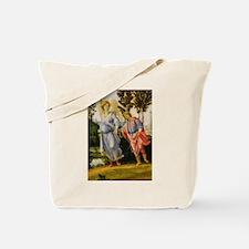 Filippino Lippi - Tobias and the Angel Tote Bag