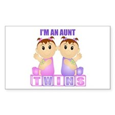 I'm An Aunt (PGG:blk) Rectangle Decal