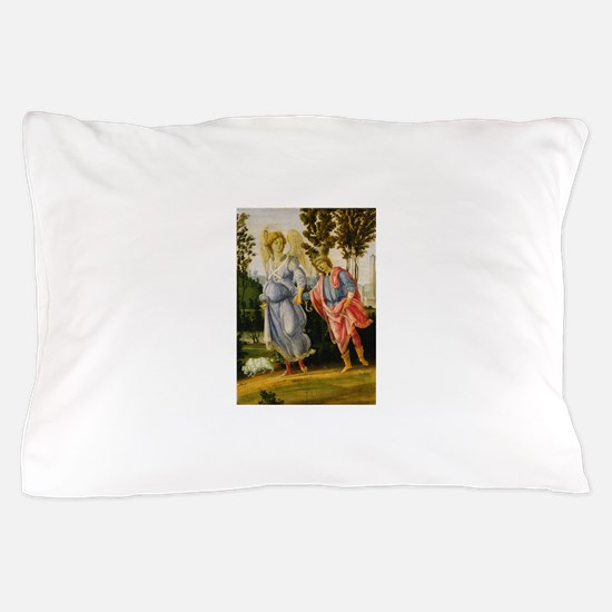 Filippino Lippi - Tobias and the Angel Pillow Case