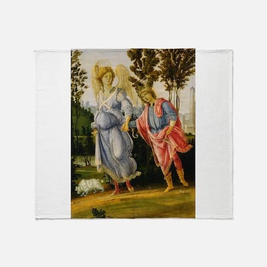 Filippino Lippi - Tobias and the Angel Throw Blank
