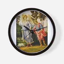 Filippino Lippi - Tobias and the Angel Wall Clock